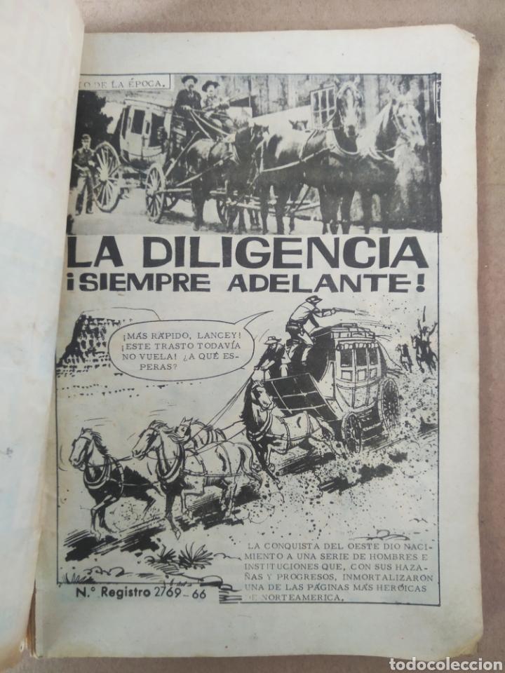 Tebeos: Colosos del Oeste n°42: La Diligencia Siempre Adelante (Ferma, 1966). Por Ricky Dickinson. - Foto 3 - 280725163