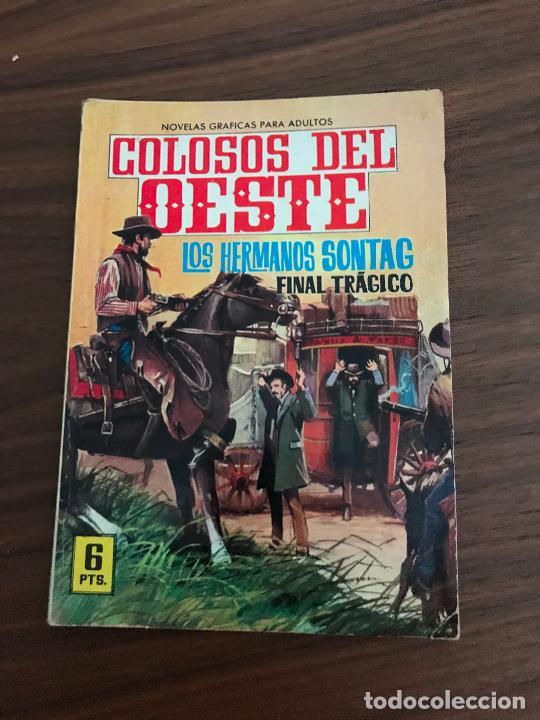 COLOSOS DEL OESTE Nº 25, NOVELA GRÁFICA, EDITORIAL FERMA (Tebeos y Comics - Ferma - Colosos de Oeste)