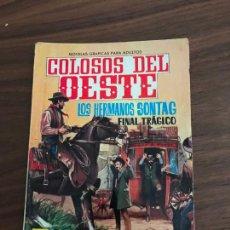 Tebeos: COLOSOS DEL OESTE Nº 25, NOVELA GRÁFICA, EDITORIAL FERMA. Lote 285601198