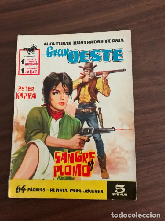 GRAN OESTE Nº 58, NOVELA GRÁFICA, EDITORIAL FERMA (Tebeos y Comics - Ferma - Gran Oeste)