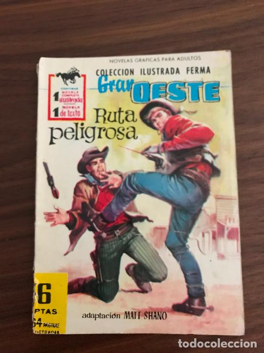 GRAN OESTE Nº 155, NOVELA GRÁFICA, EDITORIAL FERMA (Tebeos y Comics - Ferma - Gran Oeste)
