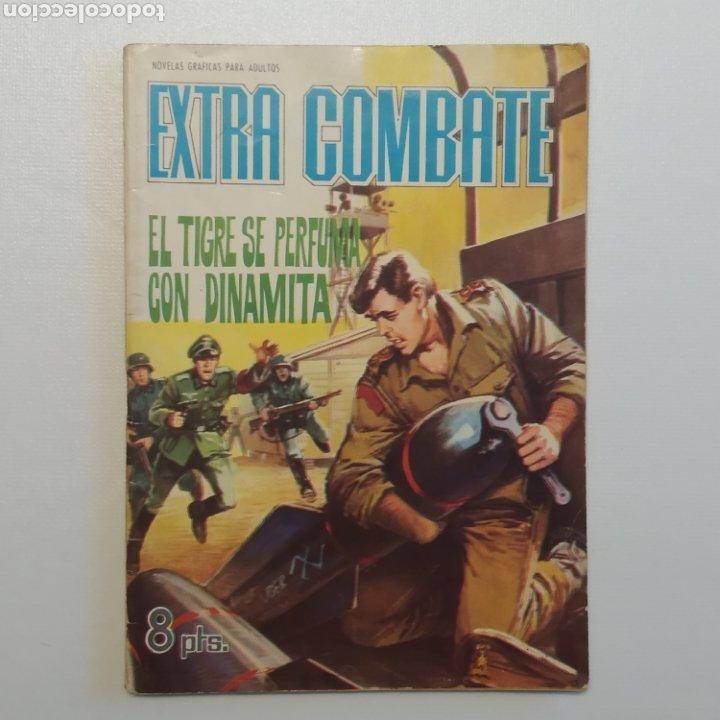 Tebeos: Lote 3 EXTRA COMBATE nº 30, 33 y 54 Editorial Ferma año 1965 - Foto 2 - 286711058
