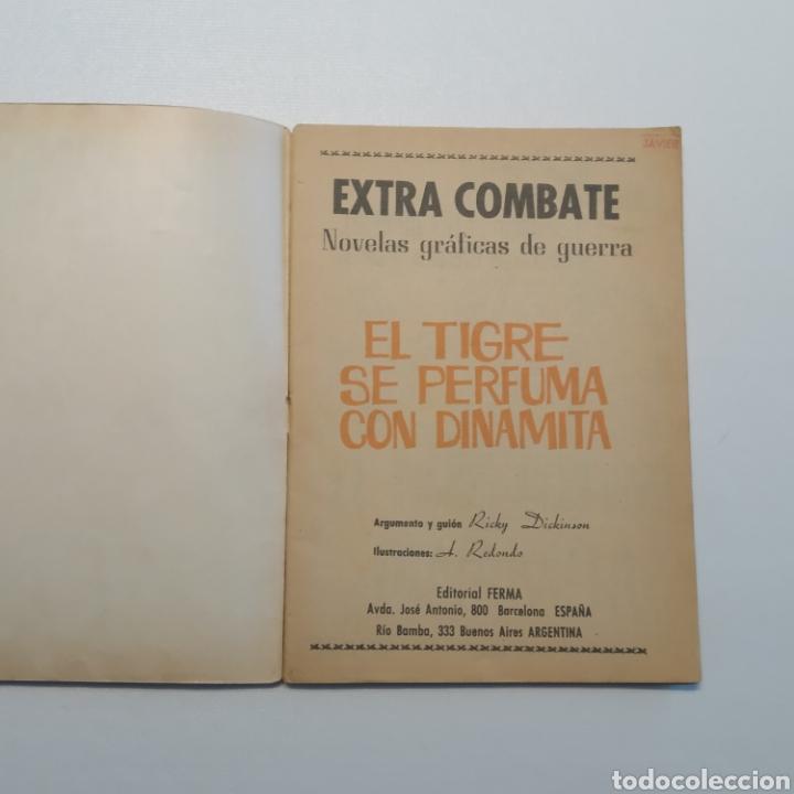 Tebeos: Lote 3 EXTRA COMBATE nº 30, 33 y 54 Editorial Ferma año 1965 - Foto 7 - 286711058