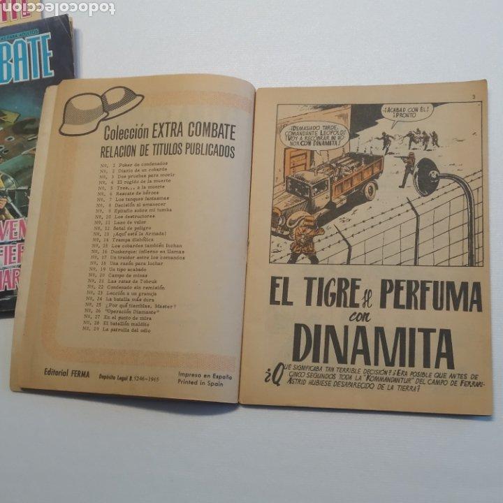Tebeos: Lote 3 EXTRA COMBATE nº 30, 33 y 54 Editorial Ferma año 1965 - Foto 10 - 286711058