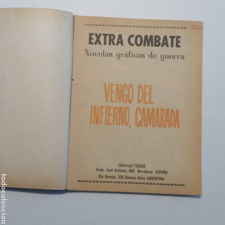 Tebeos: Lote 3 EXTRA COMBATE nº 30, 33 y 54 Editorial Ferma año 1965 - Foto 22 - 286711058