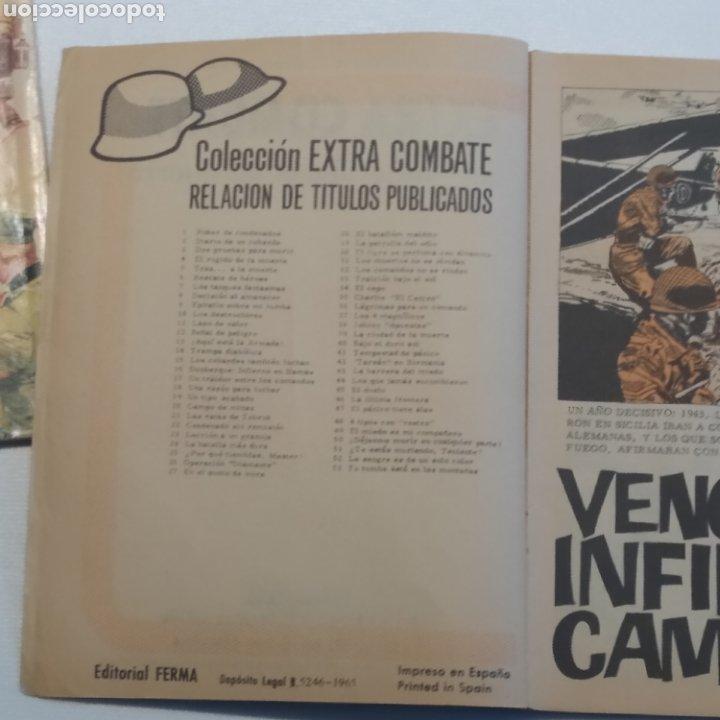 Tebeos: Lote 3 EXTRA COMBATE nº 30, 33 y 54 Editorial Ferma año 1965 - Foto 24 - 286711058