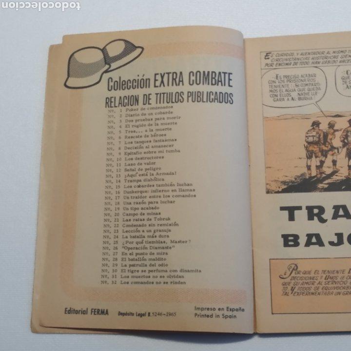 Tebeos: Lote 3 EXTRA COMBATE nº 30, 33 y 54 Editorial Ferma año 1965 - Foto 39 - 286711058