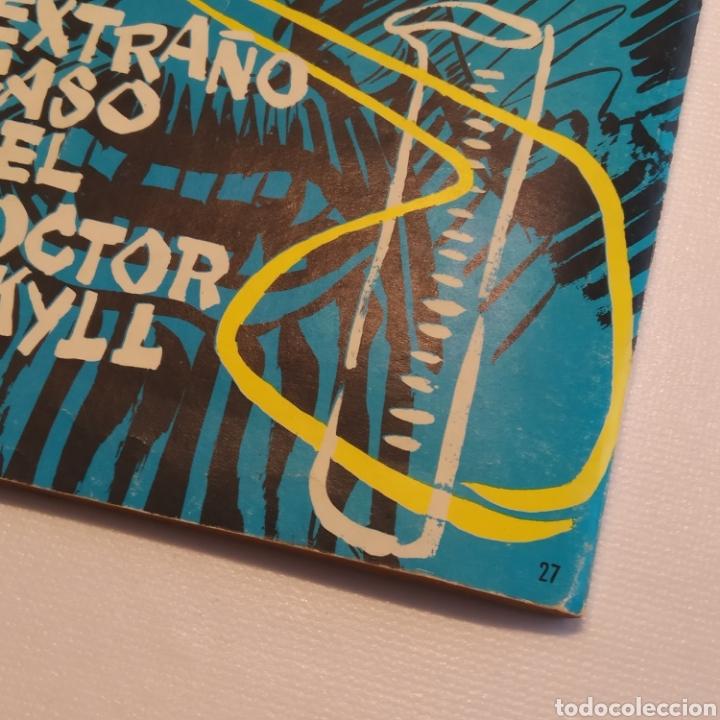 Tebeos: Lote 3 Novela Gráfica TORAY 27 El Corsario Rojo 28 El Extraño caso del Doctor Jekyll 35 Oliver Twist - Foto 27 - 286713823