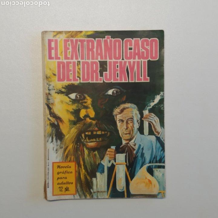 Tebeos: Lote 3 Novela Gráfica TORAY 27 El Corsario Rojo 28 El Extraño caso del Doctor Jekyll 35 Oliver Twist - Foto 30 - 286713823