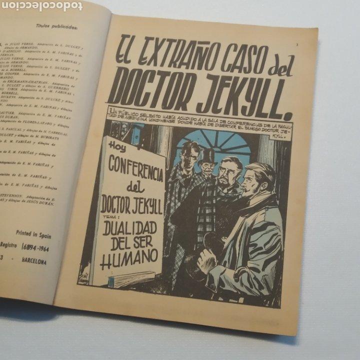 Tebeos: Lote 3 Novela Gráfica TORAY 27 El Corsario Rojo 28 El Extraño caso del Doctor Jekyll 35 Oliver Twist - Foto 36 - 286713823