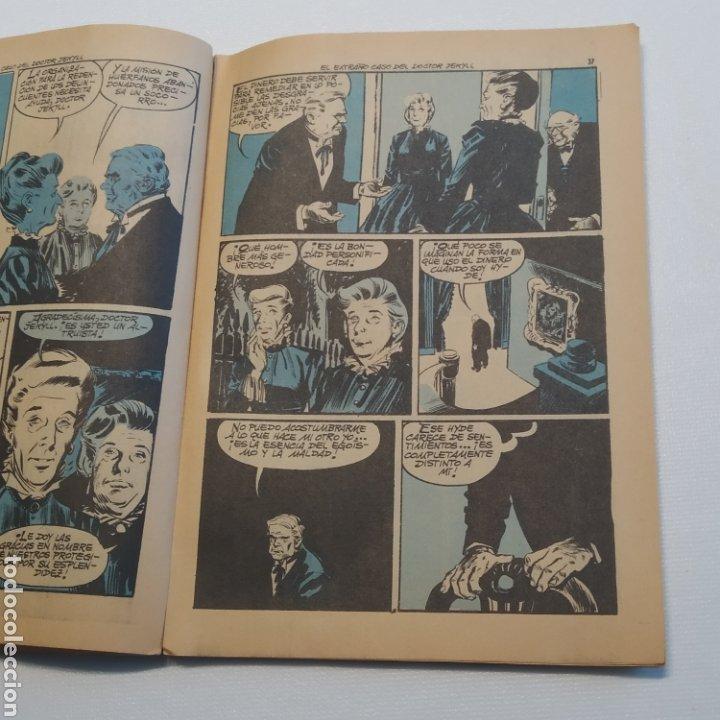 Tebeos: Lote 3 Novela Gráfica TORAY 27 El Corsario Rojo 28 El Extraño caso del Doctor Jekyll 35 Oliver Twist - Foto 38 - 286713823