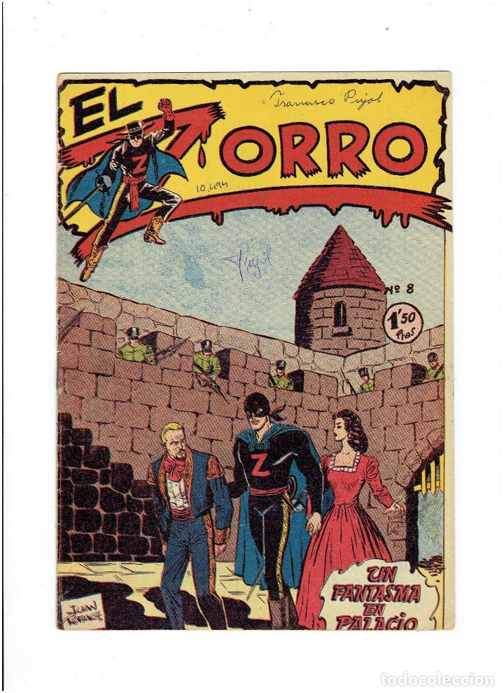Tebeos: Archivo * EL ZORRO * Nº 8, 9, 15, 19, * FERMA 1956 * ORIGINALES * - Foto 2 - 286893638