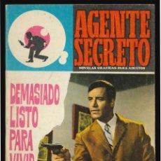 Livros de Banda Desenhada: AGENTE SECRETO - FERMA / NÚMERO 38. Lote 287103708