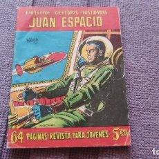Tebeos: JUAN ESPACIO Nº 7. DIFÍCIL EN ESTE ESTADO. (1958). Lote 287649948