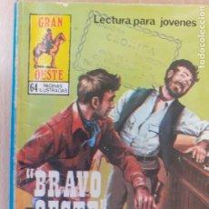 Tebeos: GRAN OESTE Nº 389. BRAVO OESTE. PRODUCCIONES EDITORIALES 1979.. Lote 287762808