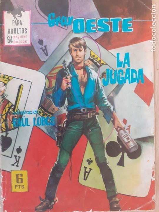 GRAN OESTE Nº 371. LA JUGADA. PRODUCCIONES EDITORIALES 1962 (Tebeos y Comics - Ferma - Otros)
