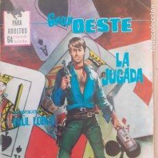 Tebeos: GRAN OESTE Nº 371. LA JUGADA. PRODUCCIONES EDITORIALES 1962. Lote 287766173