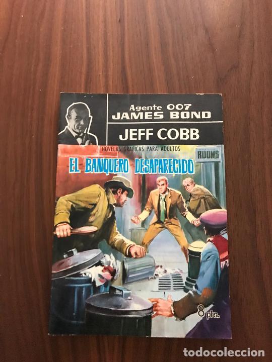 AGENTE 007 JAMES BOND Nº 2, NOVELA GRÁFICA, EDITORIAL FERMA (Tebeos y Comics - Ferma - Agente Secreto)