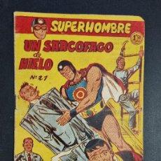 Giornalini: SUPERHOMBRE Nº 21 UN SARCOFAGO DE HIELO FERMA ORIGINAL , J. Lote 288539963