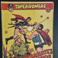 Giornalini: SUPERHOMBRE Nº 29 DIAMANTES ROBADOS FERMA ORIGINAL , J. Lote 288540143