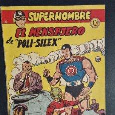 Giornalini: SUPERHOMBRE Nº 30 EL MENSAJERO DE POLI SILEX FERMA ORIGINAL , J. Lote 288540253