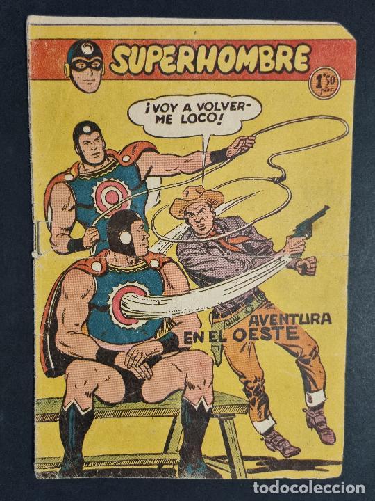 SUPERHOMBRE Nº 36 AVENTURA EN EL OESTE FERMA ORIGINAL , J (Tebeos y Comics - Ferma - Otros)