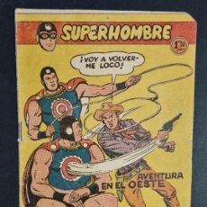 Tebeos: SUPERHOMBRE Nº 36 AVENTURA EN EL OESTE FERMA ORIGINAL , J. Lote 288540508