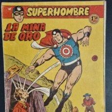 Tebeos: SUPERHOMBRE Nº 47 LA MINA DE ORO FERMA ORIGINAL , J. Lote 288540563