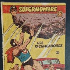 Tebeos: SUPERHOMBRE Nº 49 LOS FALSIFICADORES FERMA ORIGINAL , J. Lote 288540663