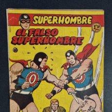 Tebeos: SUPERHOMBRE Nº 58 EL FALSO SUPERHOMBRE FERMA ORIGINAL , J. Lote 288540758