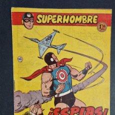 Tebeos: SUPERHOMBRE Nº 60 ESPIAS FERMA ORIGINAL , J. Lote 288540838