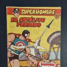 Tebeos: SUPERHOMBRE Nº 62 EL SATELITE PERDIDO FERMA ORIGINAL , J. Lote 288540923
