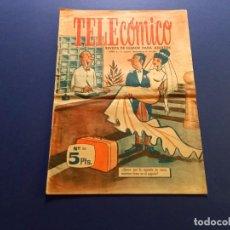 Tebeos: TELECOMICO AÑO1 EPOCA 1-Nº 24-JUNIO 1965. Lote 289203158