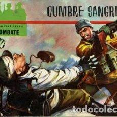 Tebeos: CINECOLOR-COMBATE-FERMA- Nº 7 -CUMBRE SANGRIENTA-1963-BUENO-DIFÍCIL-CON REGALO-LEAN-5606. Lote 290100243