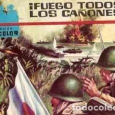 Tebeos: CINECOLOR-COMBATE-FERMA- Nº 19 -¡FUEGO TODOS LOS CAÑONES!-1963-BUENO-DIFICIL-LEAN-5607. Lote 290103583