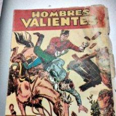 Tebeos: HOMBRES VALIENTES N 5 (SERIE ROJA) LA JUSTICIA DE LOS POLICÍAS MONTADOS DICK DARING EDITORIAL FERM. Lote 292140618