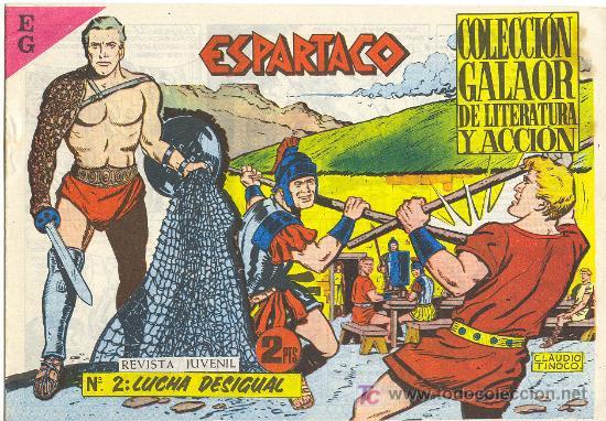 ESPARTACO Nº 2 (Tebeos y Comics - Galaor)