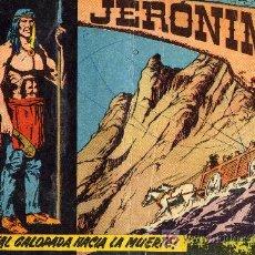 Tebeos: JERÓNIMO Nº 10 (EDICIÓN ORIGINAL DE LA EDITORIAL GALAOR. AÑOS SESENTA) . Lote 6601721