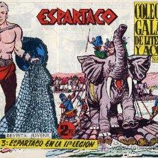 Tebeos: ESPARTACO Nº3 (CUADERNILLO ORIGINAL). EDITORIAL GALAOR. CLAUDIO TINOCO. Lote 7234653