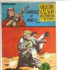Tebeos: LAWRENCE DE ARABIA Nº13 DE GALAOR . Lote 23784986