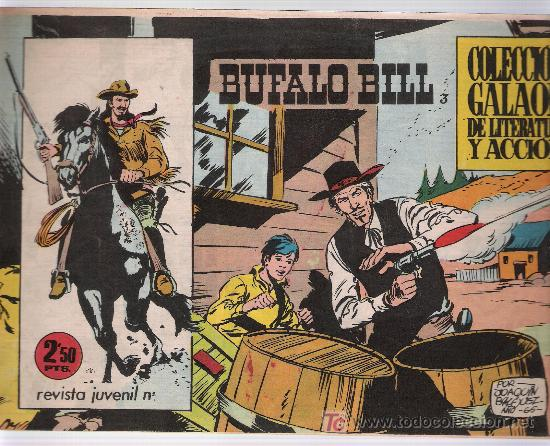 BUFALO BILL. Nº 3 (Tebeos y Comics - Galaor)