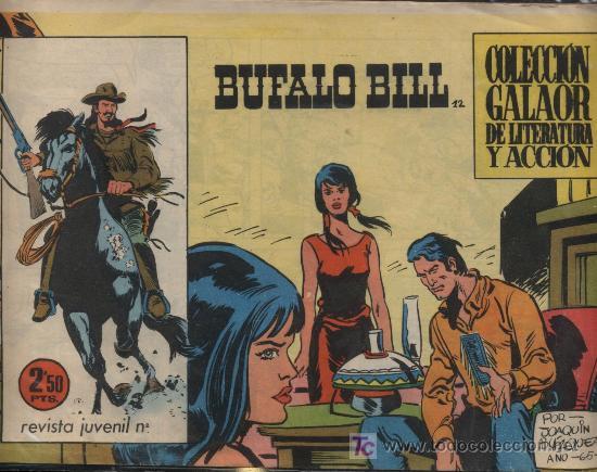 BUFALO BILL. Nº 12 (Tebeos y Comics - Galaor)