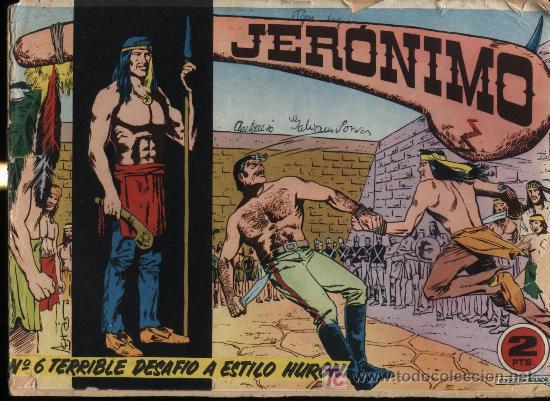 JERÓNIMO Nº 6 (Tebeos y Comics - Galaor)