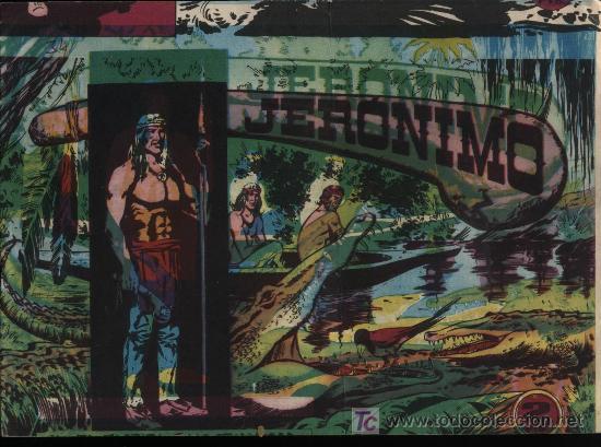 JERÓNIMO Nº 34 (Tebeos y Comics - Galaor)