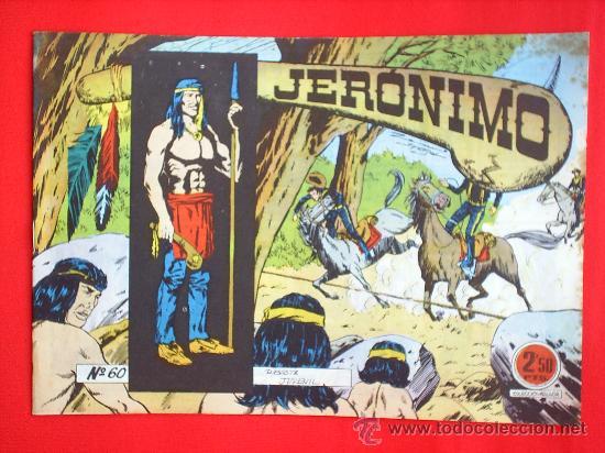 JERONIMO N.60 BIEN EDICIONES GALAOR (Tebeos y Comics - Galaor)