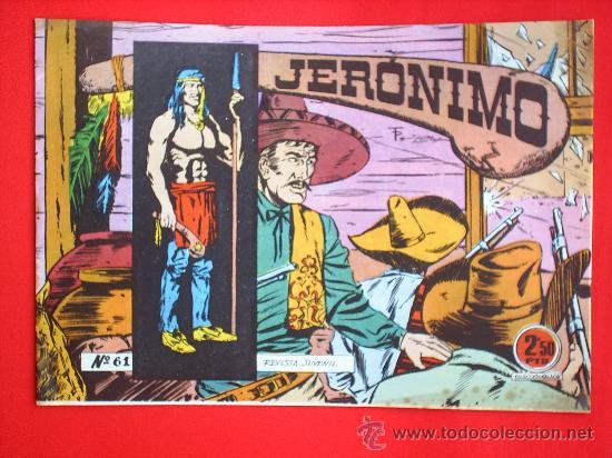 JERONIMO N.61 - EDICIONES GALAOR - ESTA COMO NUEVO, ORIGIAL (Tebeos y Comics - Galaor)
