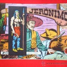 Giornalini: JERONIMO N.61 - EDICIONES GALAOR - ESTA COMO NUEVO, ORIGIAL. Lote 25014957