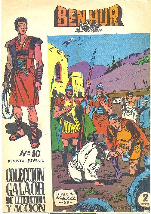 BEN HUR GALAOR Nº 10 (Tebeos y Comics - Galaor)