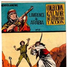 Tebeos: LAWRENCE DE ARABIA Nº 2, GALAOR 1965 EXCELENTE ESTADO - ORIGINAL. Lote 17841447