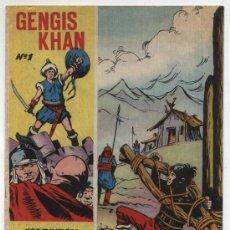Tebeos: GENGIS KHAN Nº 1.. Lote 17141695